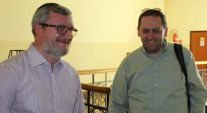 Piotr Kowalik i dr Jacek Proszyk