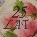Tort - 25 lat