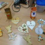 Recyklingowe ozdoby choinkowe i świąteczne