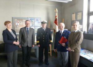 Wernisaż wystawy Liga Morska i Rzeczna w przededniu 100-lecia