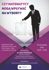 Wykład otwarty - plakat