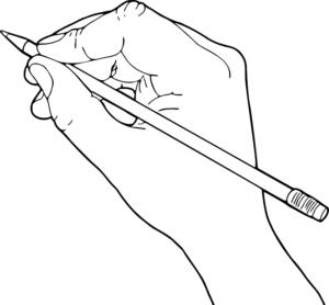 Rysująca ręka